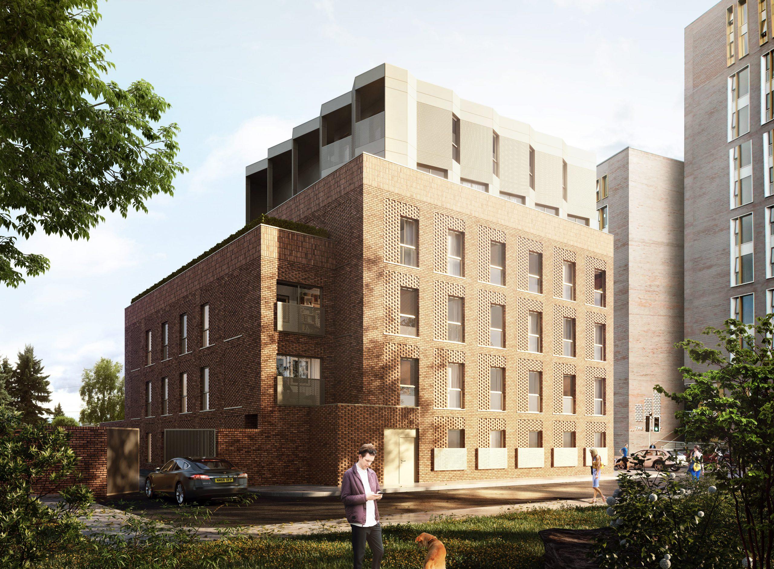 Generation CO manchester property development - architectural visualisation 1