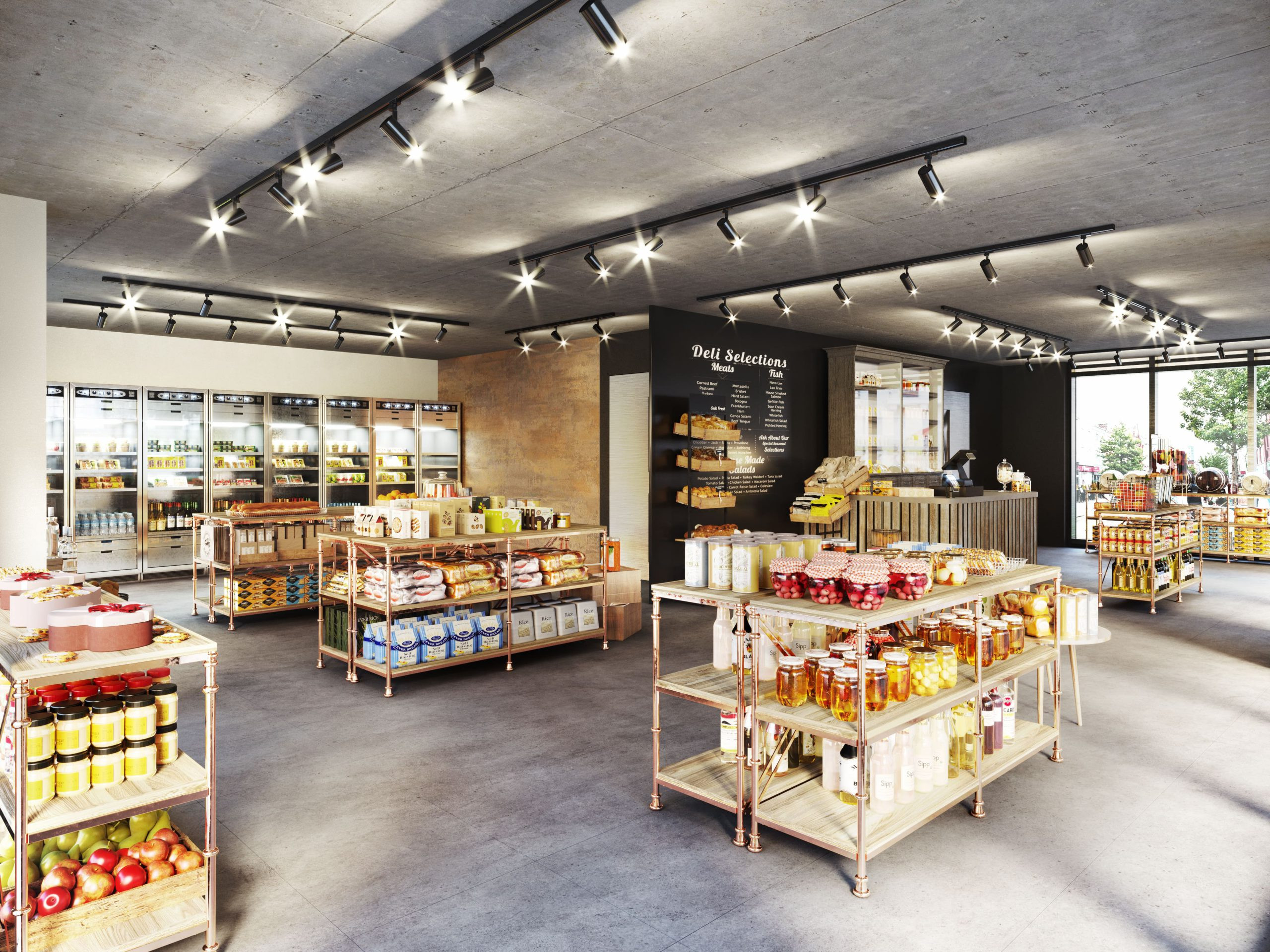 Heaton Group_Bishopgate_Preston_Retail_Space_Interior_Visualisation_CGI_DELI