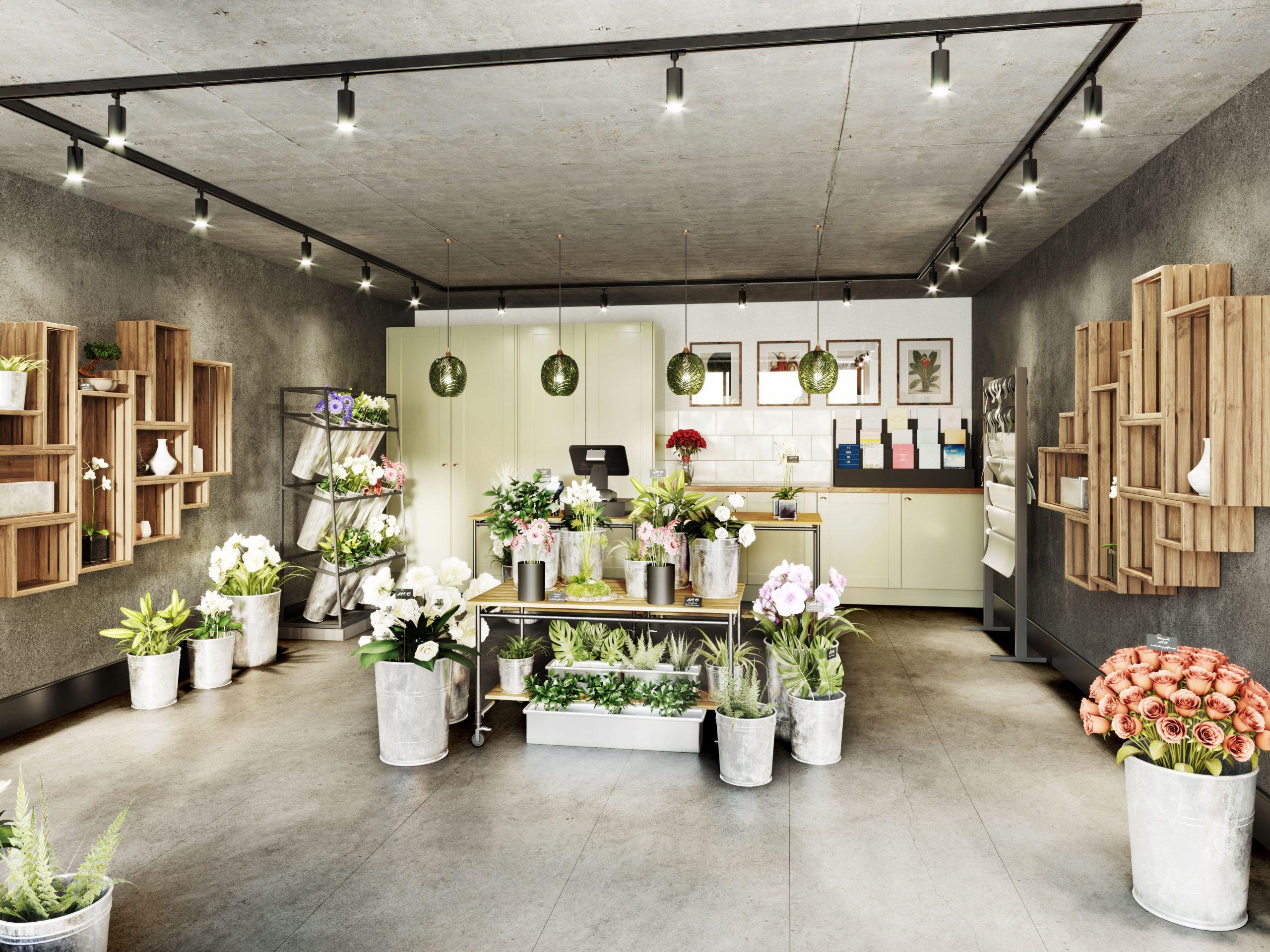 Heaton Group_Bishopgate_Preston_Retail_Space_Interior_Visualisation_CGI_FLORIST