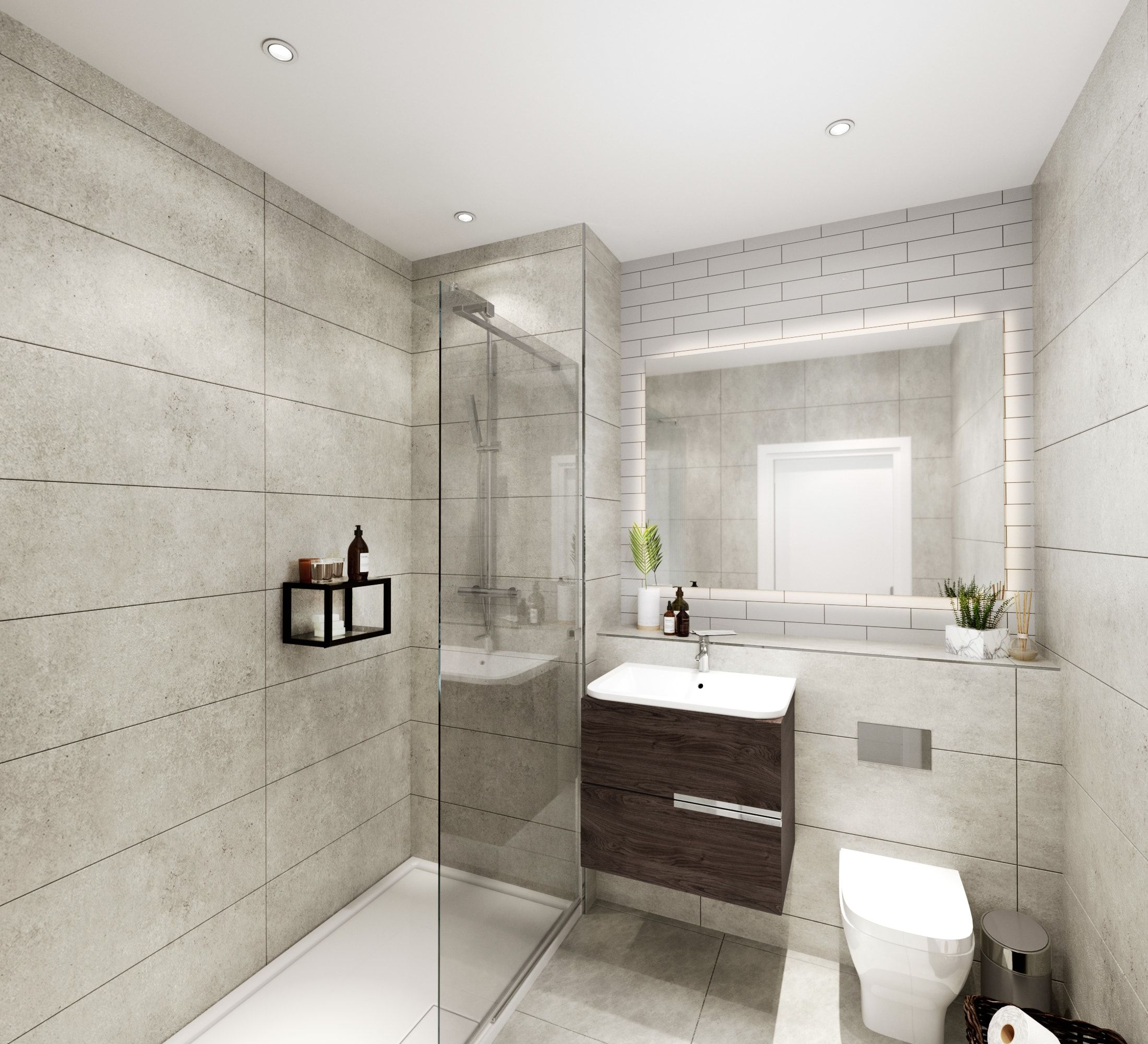 property marekting - bathroom cgi