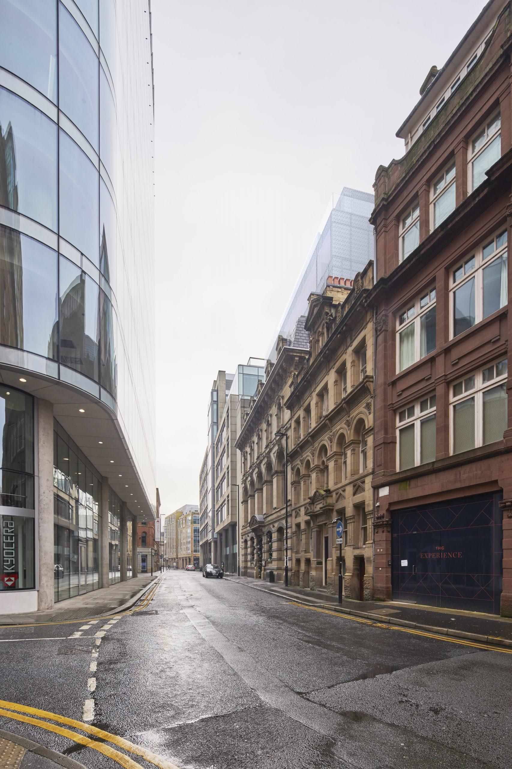 verified views CGI - manchester city centre